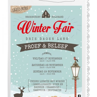 Poster Winterfair Bolsward